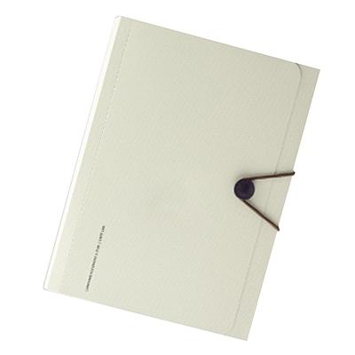 喜利 smartfit系列便携6层风琴包 (米色) A4  A-7589-16