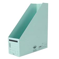 普乐士 竖型文件盒 (浅蓝) A4  C78-075