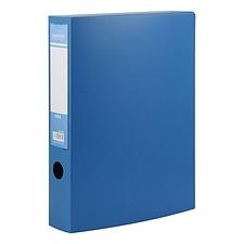 国誉 粘扣档案盒 (蓝) A4  EB0910B