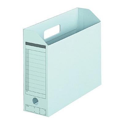 普乐士 横式纸质文件盒 (浅兰) A4  FL-051BF