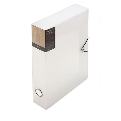 时代良品 绳扣半透明档案盒 (透明) A4  SD-N201