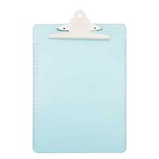 杰丽斯 书写板夹 (透明蓝) A4  804-3