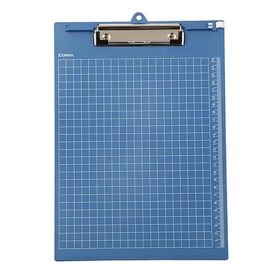 齐心 书写板夹(竖式) (蓝) A4  A724-X