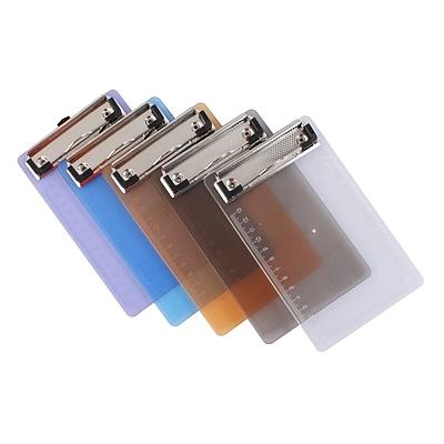 钊盛 写字板夹(票据用) (混色) 110*180mm  ZS-T02