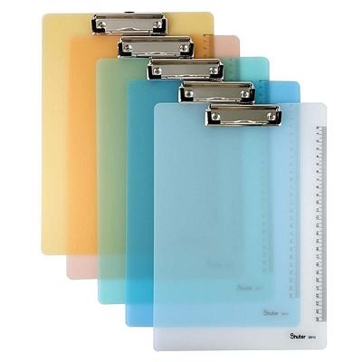 树德 PP写字板夹 (混色) A4  S810