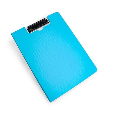 树德 彩虹直板夹 (蓝) A4 竖式  U6132