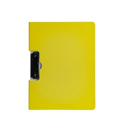 树德 彩虹直板夹 (黄) A4 横式  U6133