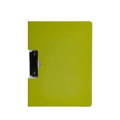 树德 彩虹直板夹 (绿) A4 横式  U6133