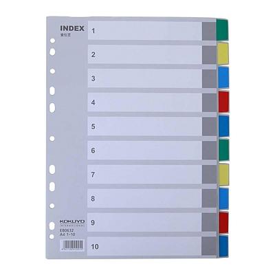 彩色PP分類索引