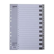 易优百 灰色PP分类索引 (灰) 21级  EB0635