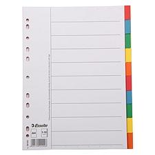 易达 彩色纸质分类索引 (彩色) 10级  56104