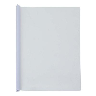 得力 加宽抽杆文件夹 (白) A4 5个/包  5532