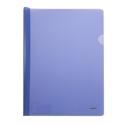 金得利 加宽抽杆夹 (蓝色) A4 5个/包  Q314