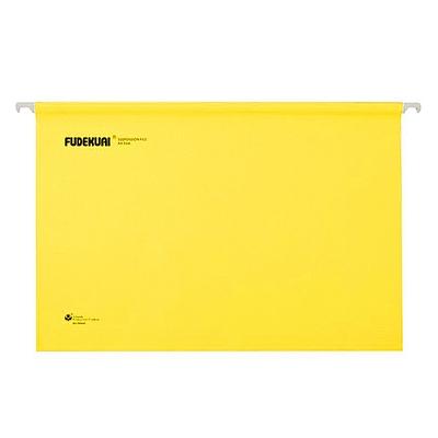 富得快 吊挂文件夹 (黄) A4 25个/盒  98440