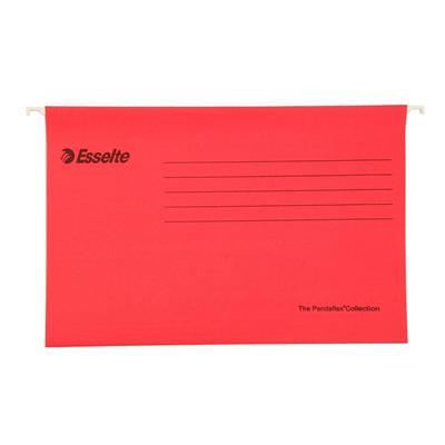 易达 快捞文件袋 (红) FC 25个/盒  393117