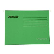 易达 快捞文件袋 (绿) A4 25个/盒  393121
