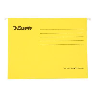 易达 快捞文件袋 (黄) A4 25个/盒  393125