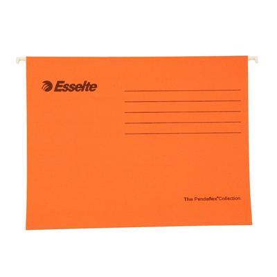 易达 快捞文件袋 (橙) A4 25个/盒  393129