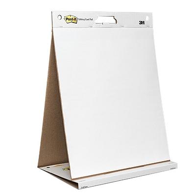 3M 报事贴支架式会议挂版纸/白板纸 (白) 508*584mm 20页/本  563R