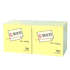 易优百 易优贴自粘便条纸 (黄) 76*76mm 12本/包  EB-654
