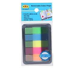 商务贴 抽取式荧光膜指示标签 (5色) 12*44mm  F-OA455B