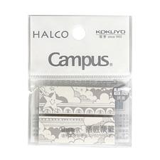 国誉 Campus可替换式意匠便签(替芯) (花影) 45*16mm*20张*2条/包  WSG-MEKS01-26