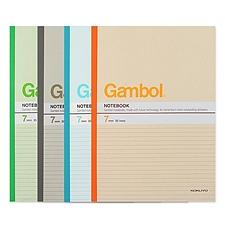 渡边 无线装订笔记本 (混色) A5 40页 12本/包  WCN-G5407