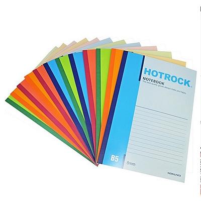 何如 无线装订笔记本 (混色) B5/60页 6本/包  WCN-N0060