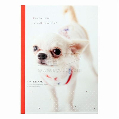 国誉 设计本(宠物) (混色) B5/50页  WCN-DNB55-1