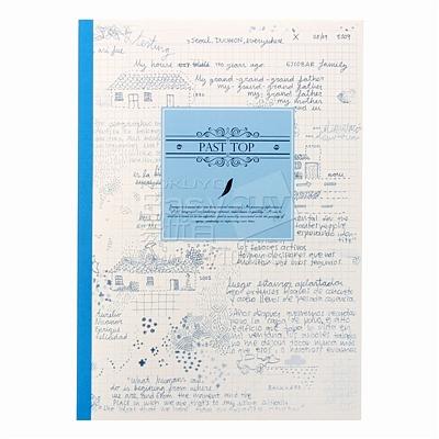 国誉 设计本(田园记忆) (混色) B5/40页  WCN-DNB54-4