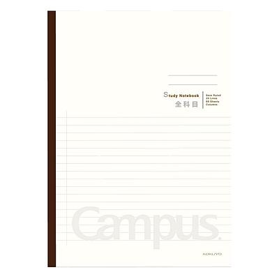 国誉 Campus全科目学习本 (奶白(背条混色)) B5/60页  WCN-CNB1632