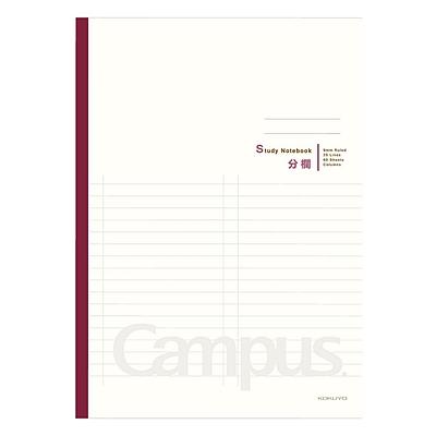 国誉 Campus分栏学习本 (奶白(背条混色)) B5/60页  WCN-CNB1633