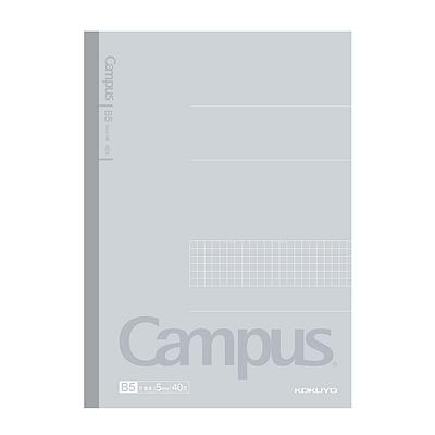 国誉 Campus无线装订方格笔记本 (灰) B5/40页  WCN-CNB1410-1