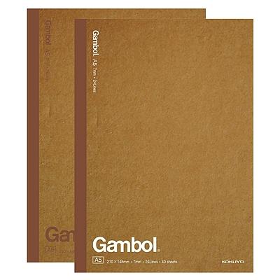 渡边 牛皮纸无线装订笔记本 (混色) A5/40页  WCN-G5401C