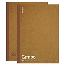 渡边 牛皮纸无线装订笔记本 (混色) A5/80页  WCN-G5801C