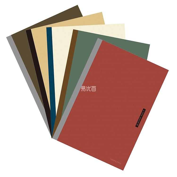 国誉 一米新纯无线装订笔记本 (5色混装) A5/40页  WSG-NBSA540