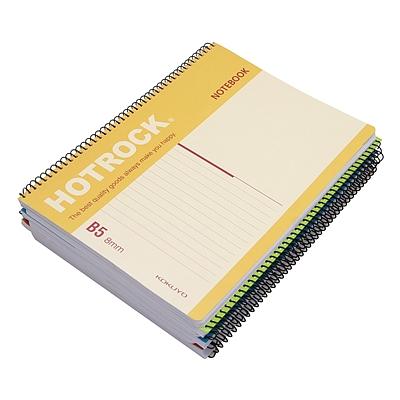 何如 螺旋装订笔记本 (混色) B5/50 页  WCN-R0050