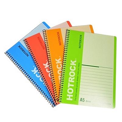 何如 螺旋装订笔记本 (混色) A5/50页 12本/包  WCN-R1050