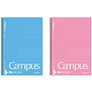 国誉 Campus螺旋装订易撕笔记本(经典系列) (混色) A5/50页  WCN-CSN3510