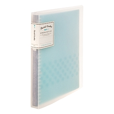 國譽 淡彩曲奇系列活頁本 (藍) B5/26孔/40頁  WSG-RUCP11B