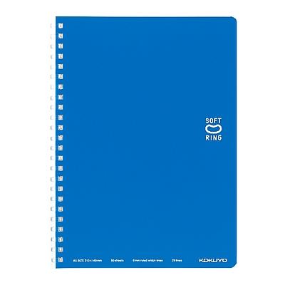 国誉 Campus软线圈PP面点线笔记本 (蓝) A5/50页  SU-SV331BT-B
