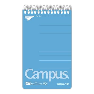 国誉 Campus螺旋装订易撕笔记本(经典系列) (混色) A7/50页  WCN-CSN5510