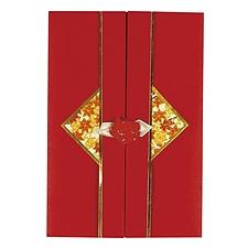 文喜 礼金袋 (红) 90*130mm  M-10