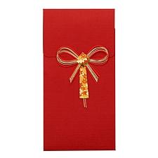 文喜 礼金袋 (红) 90*175mm  P-3