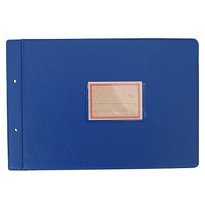 立信 塑料账夹 (混色) A4横式(297*209mm)  2902-A4