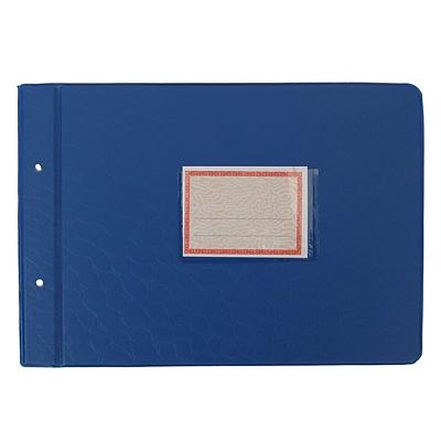 立信 塑料账夹 (蓝、绿) 16K横式(276*200mm)  2902-16