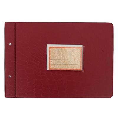 立信 塑料账夹 (蓝、绿) 18K(264*191mm)  2902-18