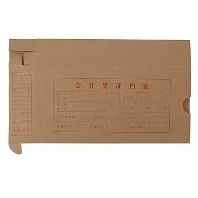 立信 凭证档案纸盒 24K(140*50*280mm)  2993