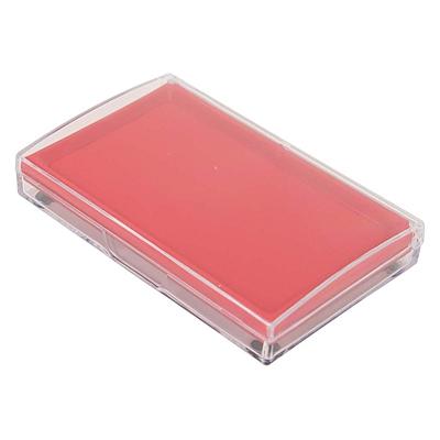 得力 印台 (红) 135*85mm  9864方形
