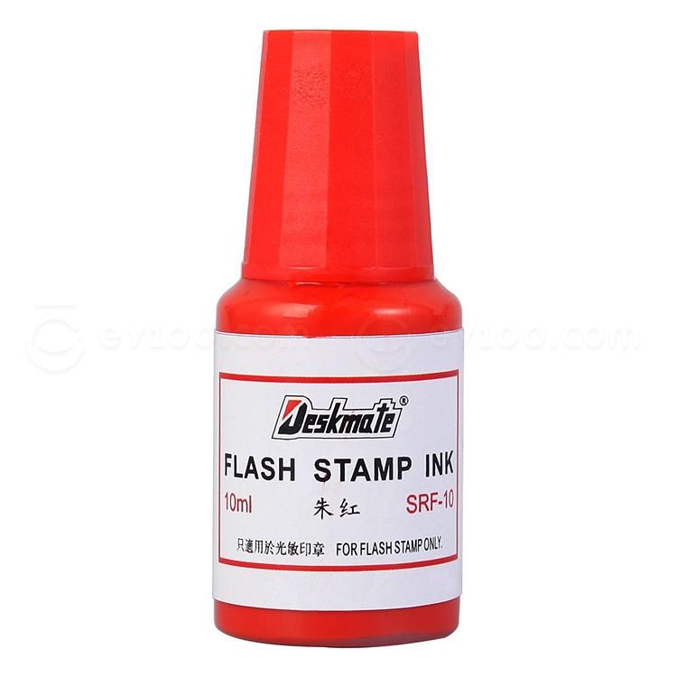 德士美 光敏印油 (紅) 10ml  SRF-10